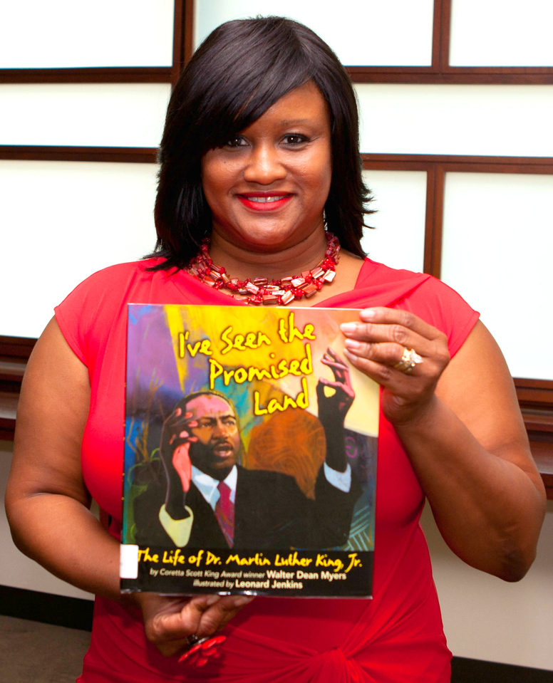 Diatra James recommends the lessons taught by I've Seen the Promised Land, a story about Dr. Martin Luther King Jr.