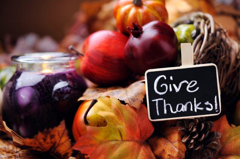 As you gather for your Thanksgiving feast, consider ways to give back to others this holiday season.