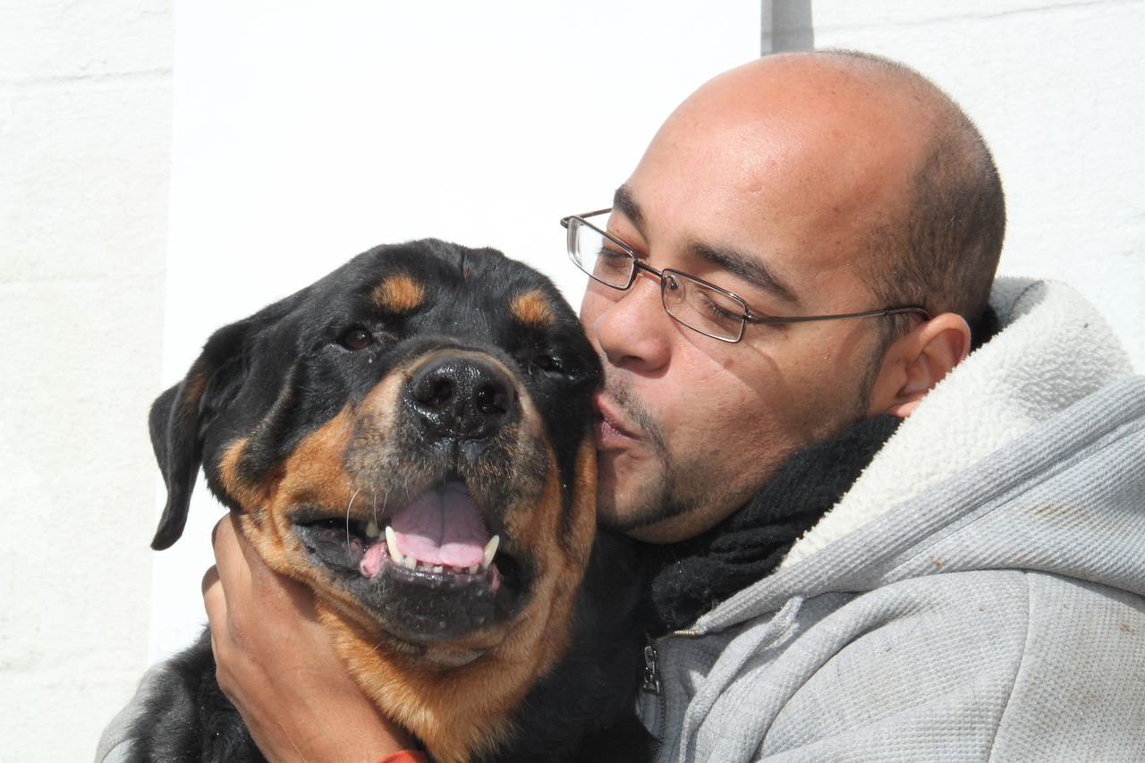 Pedro Rosario copes with a limited budget to safely accommodate as many animals as possible at his New Beginning Animal Rescue in the East Bronx, NY.