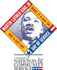 Martin Luther King Jr. Day of Service logo.
