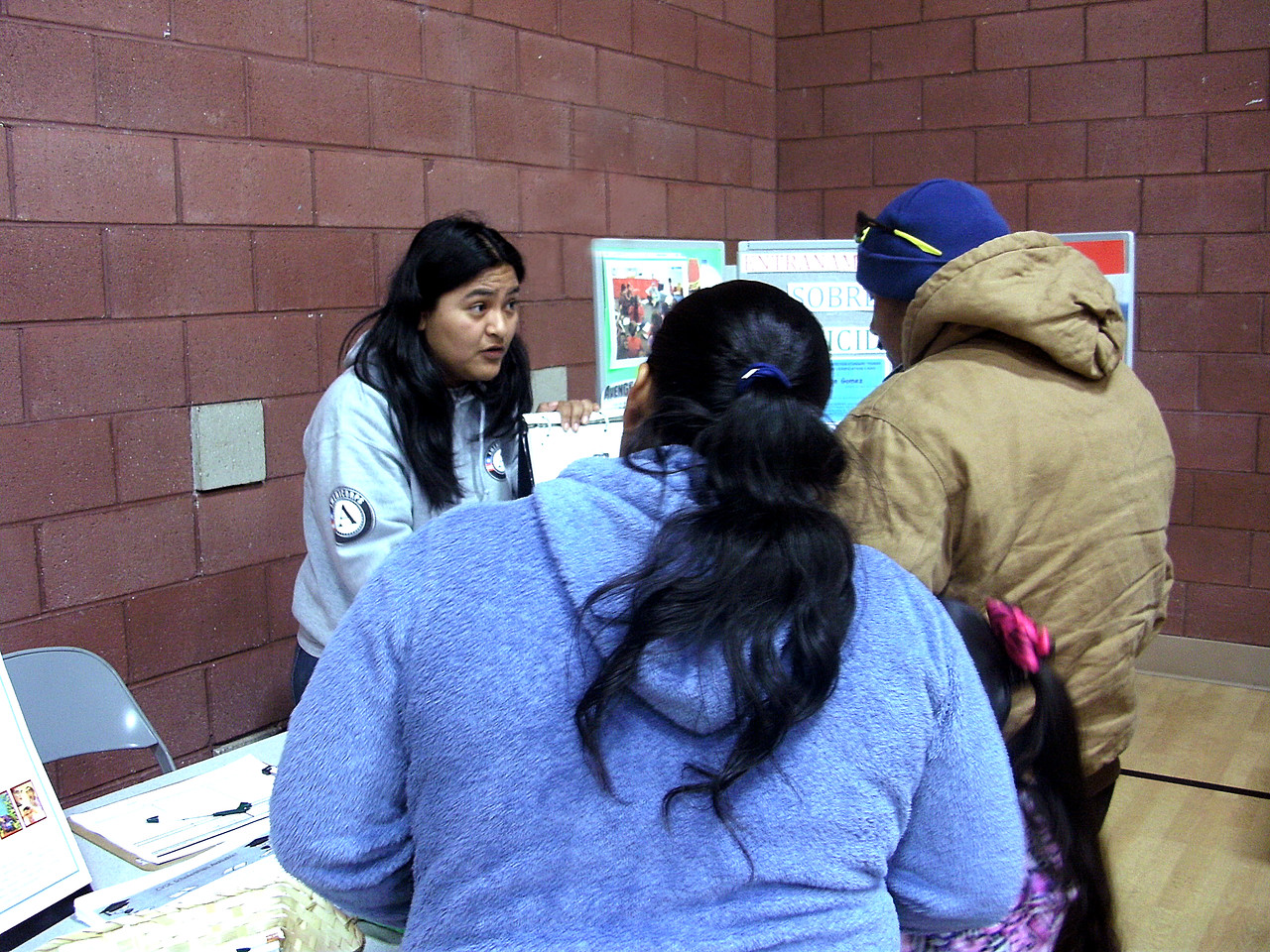 AmeriCorps members from the SAFE (Serving America's Farmworkers Everywhere) hosted activities and programs during Cesar Chavez Day on March 31, 2012.