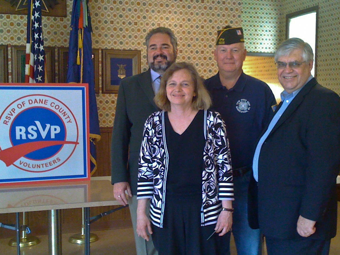 The Vets Helping Vets team in Dane County, WI
