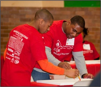 HandsOn Greater DC Cares Mentors. (Photo from HandsOn Greater DC Cares)