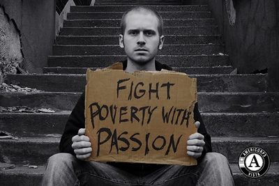Peter Chace's entry, Fight Poverty With Passion, won second place in the 2010 AmeriCorps Photo Contest. Voting for the 2012 contest continues through Sept. 1.