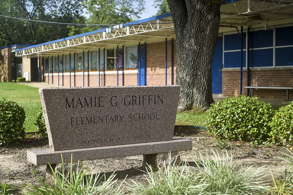 Mamie G. Griffin Elementary School in Tyler, Texas, on Tuesday, July 25, 2017. (Chelsea Purgahn/Tyler Morning Telegraph)