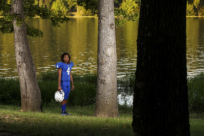 Chapel Hill's Billy Maddox poses for a portrait at Hill Creek Park Recreation Area in Whitehouse, Texas, on Thursday, Aug. 3, 2017. (Sarah Miller/Tyler Morning Telegraph)