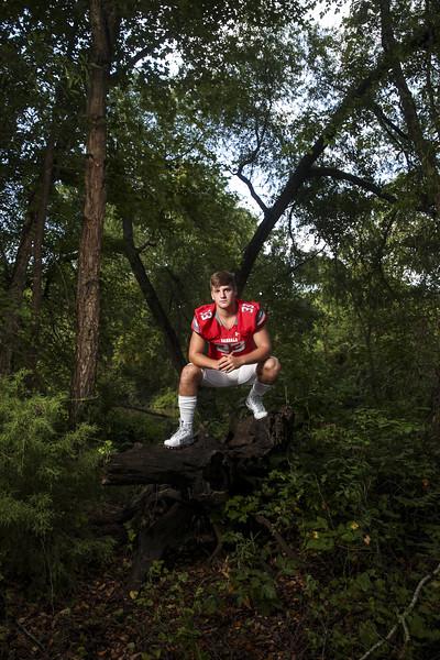 Van's Kris Dike poses for a portrait at Chandler River Park in Chandler, Texas, on Wednesday, Aug. 2, 2017. (Sarah Miller/Tyler Morning Telegraph)