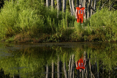 Mineola's Cameron Wise poses for a portrait at Mineola Nature Preserve in Mineola, Texas, on Friday, Aug. 4, 2017. (Sarah Miller/Tyler Morning Telegraph)