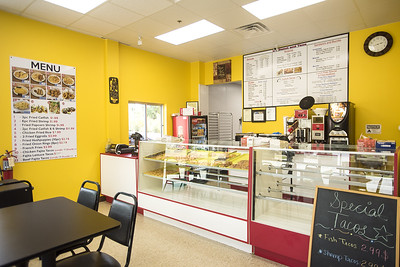 Inside UT Donuts & Tacos in Tyler, Texas, on Wednesday, Aug. 23, 2017. The new restaurant serves donuts, kolaches, tacos, seafood and more across from The University of Texas at Tyler's campus. (Chelsea Purgahn/Tyler Morning Telegraph)