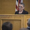Tyler attorney and Retired Judge, 114th Judicial District Court, Cynthia Kent, endorses Alicia Barkley's run for Smith County District Attorney during a press conference held on Monday Dec. 11, 2017 at the Smith County Courthouse.<br /> <br /> (Sarah A. Miller/Tyler Morning Telegraph)