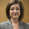 Tyler attorney Alicia Barkley announces her run for Smith County District Attorney during a press conference held on Monday Dec. 11, 2017 at the Smith County Courthouse.<br /> <br /> (Sarah A. Miller/Tyler Morning Telegraph)