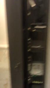 Oversvømmelse i serverrum