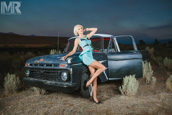 Reno Photographer Marcello Rostagni photographs portrait of model for her modeling fashion portfolio.