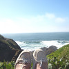 These are my feet up on the siderail overlooking our backyard....can you believe this is our backyard?? God is good...