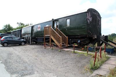 GWR BTK 5804 ex Red Cross Coach seen at Bewdley Sidings  20/07/13.