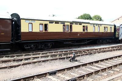 GWR BG 1145 (ex 079038) seen at Bewdley station  20/07/13.