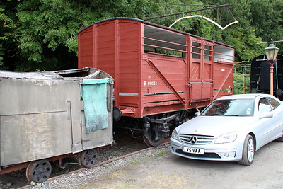 12t Cattle Van B891054 at Highley Station  20/07/13.