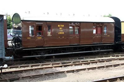 GWR Milk Brake 1399 at Bewdley Station  20/07/13.