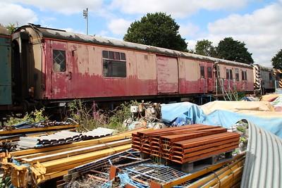 BR MK1 (BSK) NNX 80222 seen at Kidderminster Carriage Yard  20/07/13.