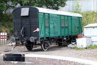 SR PMV 1174 on Kidderminster Turntable  20/07/13.