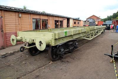 uid frame/wagon in undercoat at Bewdley Yard  20/07/13.