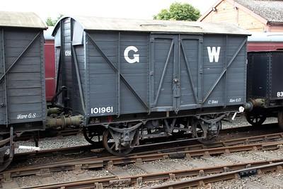 12t Vent Goods Van 101961 at Bewdley  20/07/13.