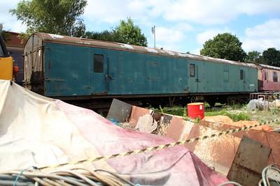 BR MK1 GUV W95194 seen at Kidderminster Carriage Yard  20/07/13.