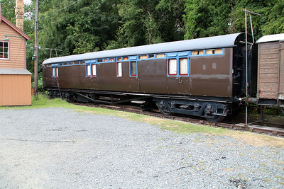 GWR BG 261 seen at Highley Station sidings  20/07/13.