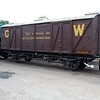 GWR Tool Van No 143 at Bewdley Sidings  20/07/13.