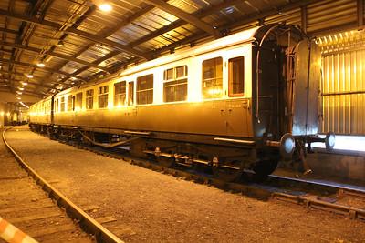 GWR TK 1116 (ex 079157) seen inside Kidderminster Carriage Shed  20/07/13.