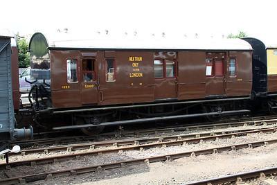 GWR BM 1399 (ex 079062) seen at Bewdley Station  20/07/13.