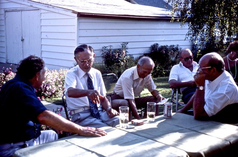 James P. Shaffer, Jr. (Unknown), Albert C. Roeth, Jr. Robert W. Shaffer, Jeanette Shaffer, and G. A. Shaffer.