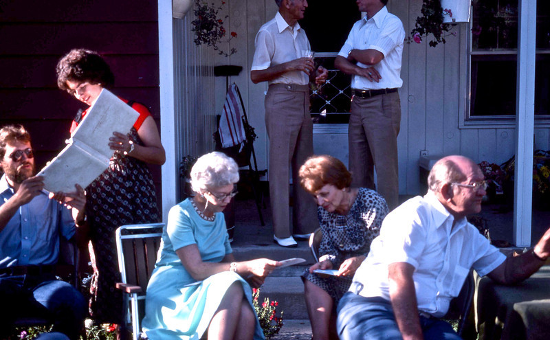 Steven P. Cline, Janet A. Cline, Ruth S. Adams, Marti Roeth, G. A. Shaffer.