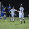 J.S.CARRAS - JCARRAS@DIGITALFIRSTMEDIA.COM  Shaker against Shenendehowa during first half of high school boys soccer action Thursday, October 16, 2014 at Shenendehowa in Clifton Park, N.Y..