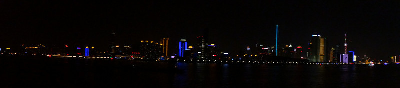 Shanghai night boat tour