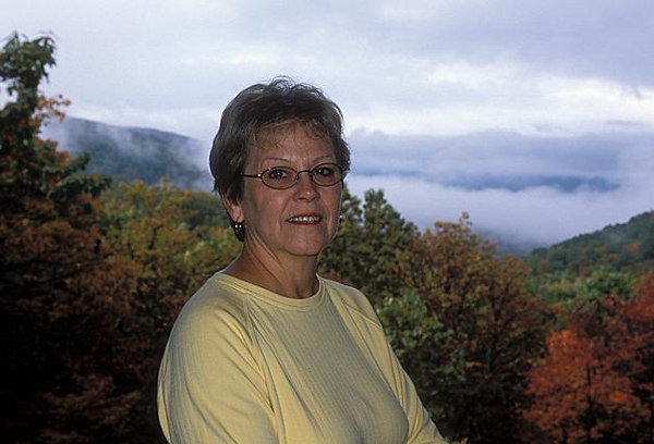 My aunt Joyce--October 2005.