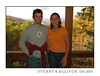 Stuart and Allison made their annual trek out to the cabin in October 2007.  Stuart experienced a little road sickness (What?  Are there curves on this drive dude?).  We had a great time--as always.  Congrats to Stu and Allison--they are expecting their first child in July 2008.