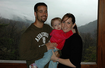 Jay, Olivia, and April Blair visited for their first time in April 2006. We all had a wonderful time.