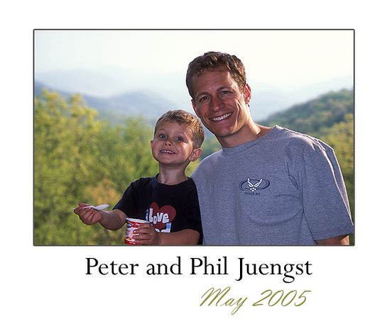 "Phil and Peter came out in May 2005 for a ""Boy's Weekend Away.""  I'm very grateful to Phil (and Peter and Erika) for their hard work and assistance in helping me paint the interior of my cabin.  We had a blast looking for frogs, taking hikes, drinking beers (and eating yogurt), and ...watching cartoons!"