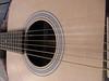 Close-up: Guitar top
