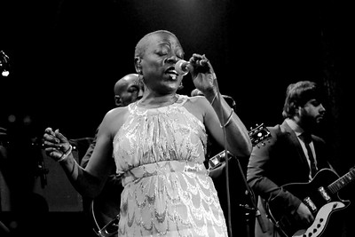 Sharon Jones and the Dap-Kings at the Gothic Theatre on March 17, 2014. Photos by Mike McGrath, heyreverb.com.