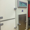 the koma blast freezer and four holding doors are in the lab.  it works great and is very quiet