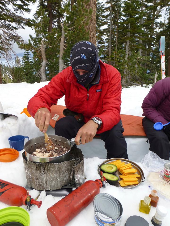 Ninja chef Tucker Cunningham slays a meal!