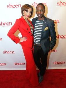 Shay L. Williams, Editor of Sheen Magazine and Sammie Hayes, Publicist & Fashion Stylist.