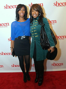 Monique Evans and Sabrina Rowe