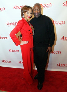 Shay L. Williams, Editor of Sheen Magazine and Jamahl L. King, CEO of S.T.E.P.S Events Planning Firm.