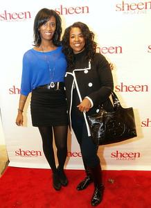 Monique Evans and Sharlinda Parker