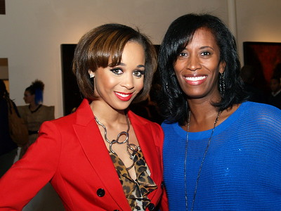 Shay L. Williams, Editor of Sheen Magazine and Monique Evans, Founder & President of The Children's Pride Foundation.