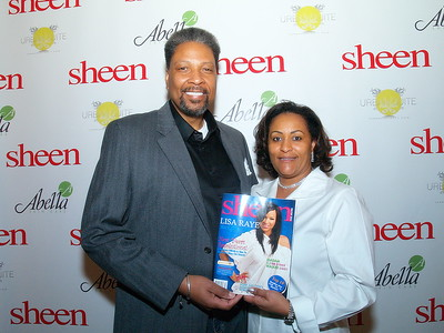 Mr. and Mrs. Chapman, Publishers/Owners of Sheen Magazine, Nairobi Hair Products and The Chapman Foundation.