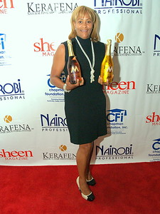Kimberly Chapman, Co-Founder of Nairobi Professional Products, Publisher of Sheen Magazine and Founder of the Chapman Foundation.